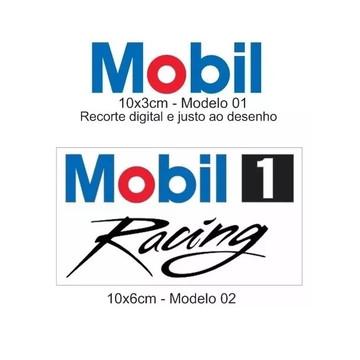 Adesivo Mobil Diversos Modelos Mobil Racing Mobil Oil