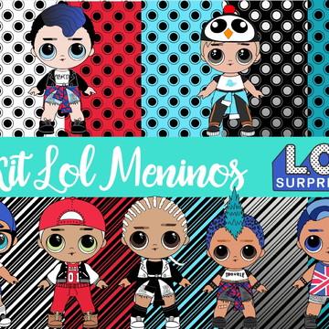 Kit Digital Lol Meninos
