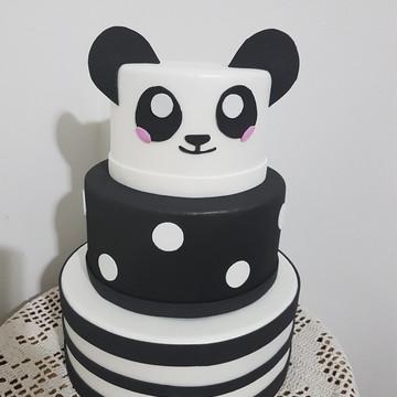 Bolo fake Panda