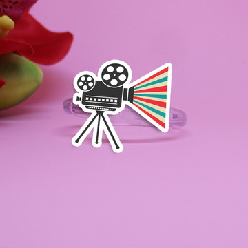 Porta-guardanapo - cinema - Hollywood - câmera