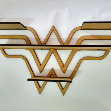 Prateleira - Mulher Maravilha - Wonder Woman