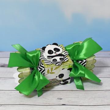 Caixa Bombom Ursinho Panda