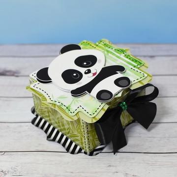 Caixa Surpresa Ursinho Panda