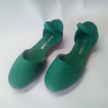 Sapatilha Vegana - Verde