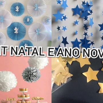 Decoração Natalina E Ano Novo Em Papel , Festas, Eventos