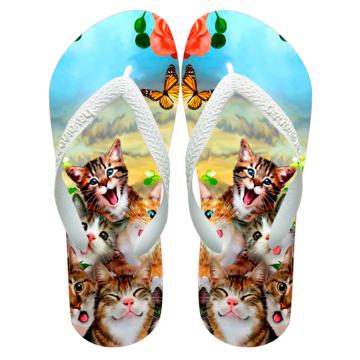 1dcdece22 Chinelos havaianas personalizado gatos