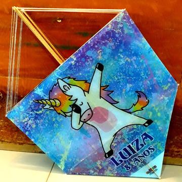 Kit Pipa Personalizada Unicornio com rabiola