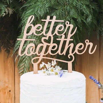 Topo de Bolo Better Together