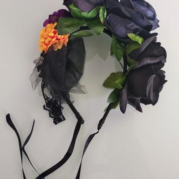 Tiara Halloween luxo