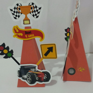 Caixa Cone Hot Wheels