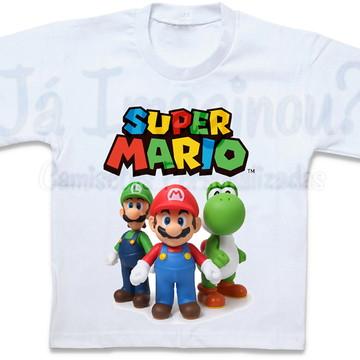 Camiseta Super Mario Bros.