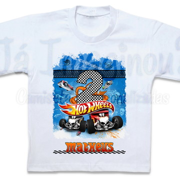 Camiseta Hot Wheels