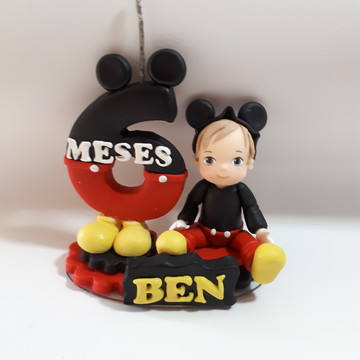 Vela mêsversario Mickey