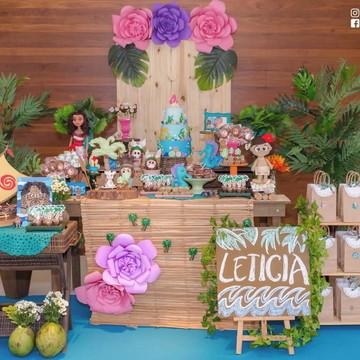 Moana - Decoração Festa Infantil