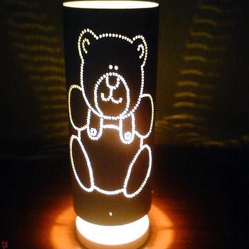 Luminária infantil urso