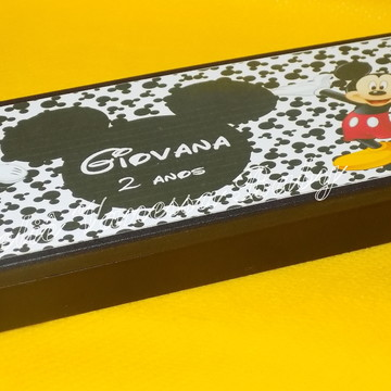 Dominó personalizado Mickey e Minnie