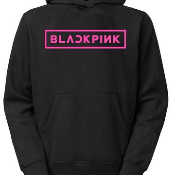 92b1190b1f Moletom Blackpink Casaco Blusa Moleton Banda Kpop