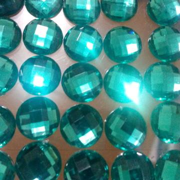 Chaton Verde Esmeralda 10mm 100 Unid