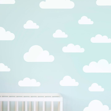 Adesivo nuvens três tamanhos