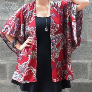 Kimono Feminino Moda Boho