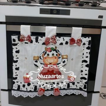 Cortina de forno Vaquinha Docinho
