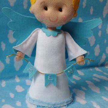 Anjo para Batizado em Feltro