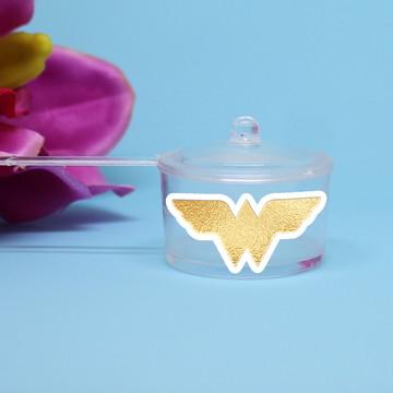 Panelinha para doce – foil - Mulher maravilha