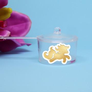 Panelinha para doce – foil - unicórnio