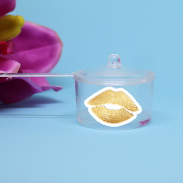 Panelinha para doce – foil - beijo boca