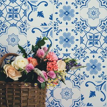 Adesivo de Azulejo Português II
