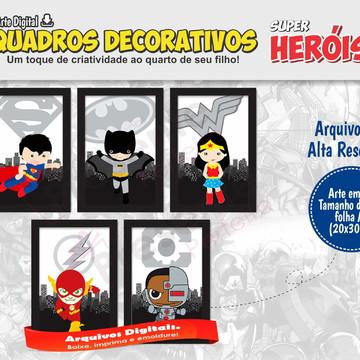 Quadros Super Herois