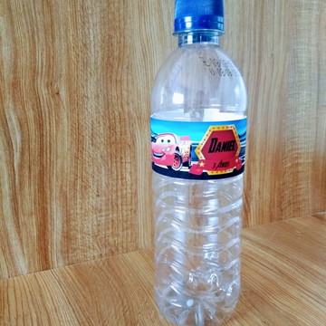 Rótulo de Água Carros