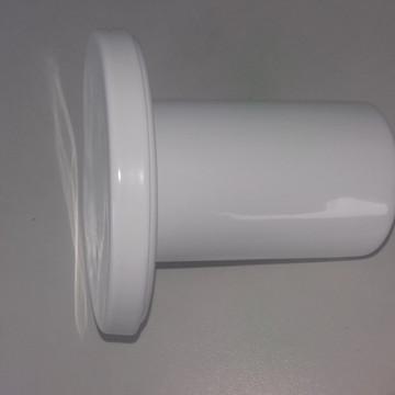 Suporte em Alumínio para espelho adnet Branco