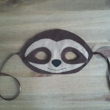 Máscara bicho preguiça
