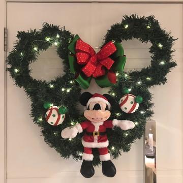 MM20 Guirlanda Natal Disney Orelhas Mickey ou Minnie noel