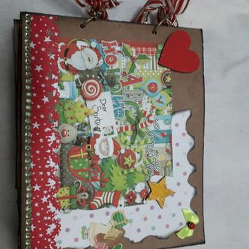 Álbum de Natal rústico 044