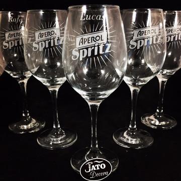 Taça Vinho Presente casamento Aniversario Brinde empresarial