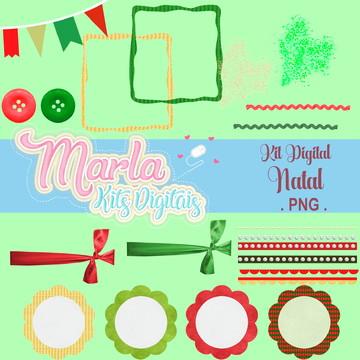 Kit Clipart Natal