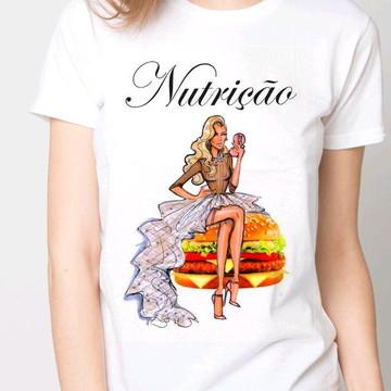 Camiseta nutricionista,nutrição, alimentação