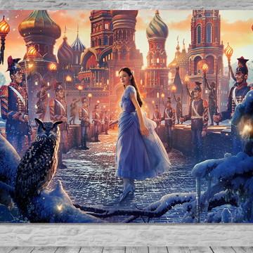 Painel O Quebra-Nozes E Os Quatro Reinos - Frete Grátis