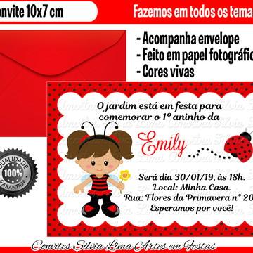 Convite Joaninha