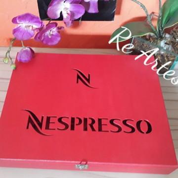 Caixa Porta Cápsulas Nespresso