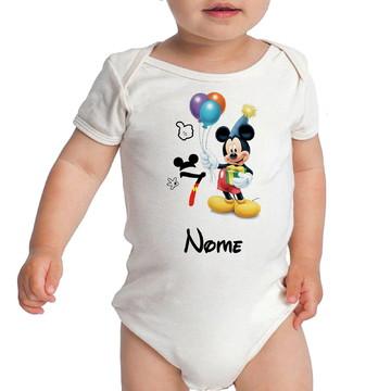 Kit Body Mesversario Mickey Baby