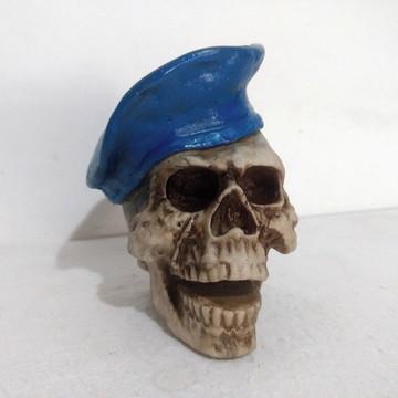 309c482029fac Caveira Cranio Boina Vermelha