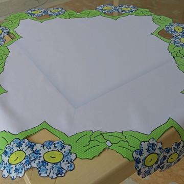 caminho de mesa flores 3