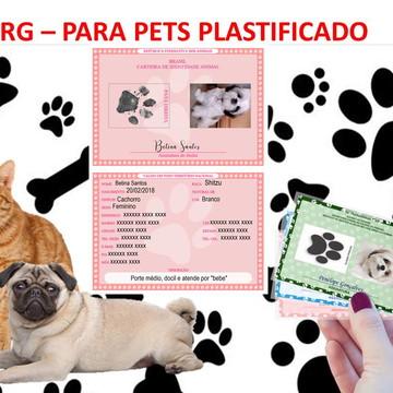RG Pet - Plastificado