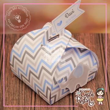 Embalagem para bem nascido Elefante azul