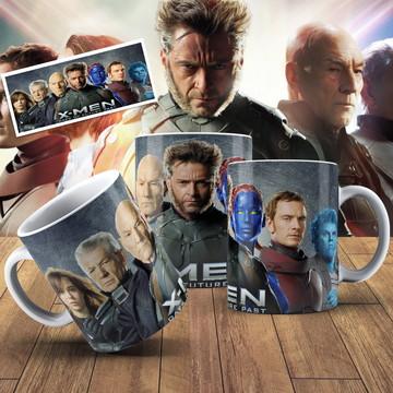 Caneca X-Man Dias De Um Futuro Esquecido Caneca Geek X-Man