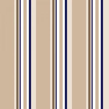 Papel de Parede Listrado Neutro Bege Branco Azul Marrom