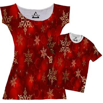 Vestido ou Camiseta Natal Natalino